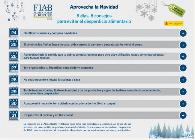 Consejos Navidad 2017 FIAB